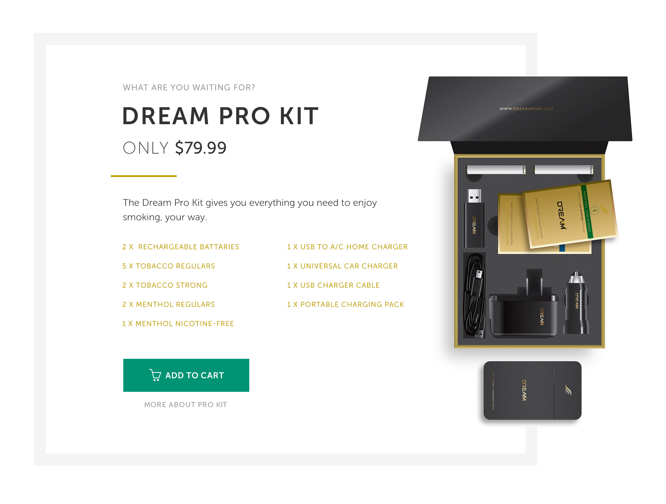Dream Smoke Solution